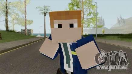 FBI Minecraft Skin pour GTA San Andreas