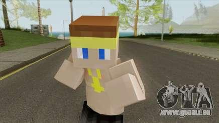 Vagos Minecraft Skin pour GTA San Andreas
