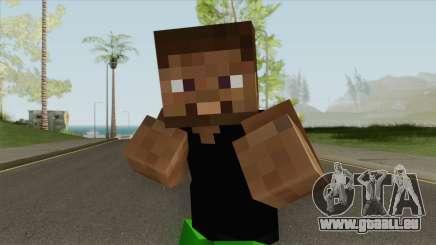 Grove Minecraft Skin pour GTA San Andreas