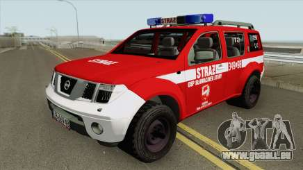 Nissan Pathfinder - OSP Slawacinek Stary pour GTA San Andreas
