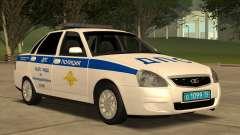 Lada 2170 ÜBER Verkehrs-Polizei