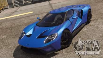 Ford GT 2017 Blue pour GTA 5