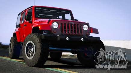 Jeep Wrangler 2012 Rubicon pour GTA 5