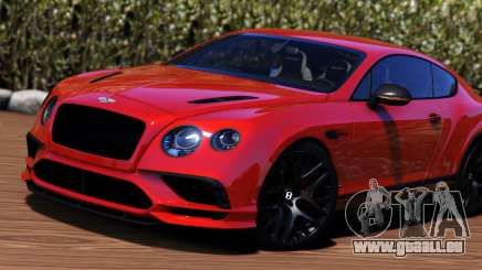 2018 Bentley Continental GT Supersports für GTA 5