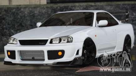 Nissan Skyline GT-R 34 für GTA 5