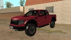 Ford F150 Raptor Stock pour GTA San Andreas