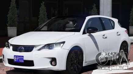 Lexus CT200h für GTA 5