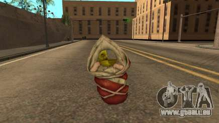 Flying baby Shrek semi-invisible pour GTA San Andreas