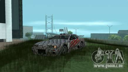Dino paint jobs for Elegy pour GTA San Andreas