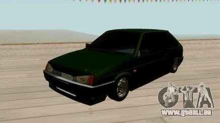VAZ 2108 Vert teinté pour GTA San Andreas