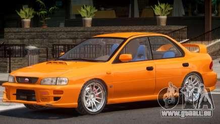 1991 Subaru Impreza STI pour GTA 4