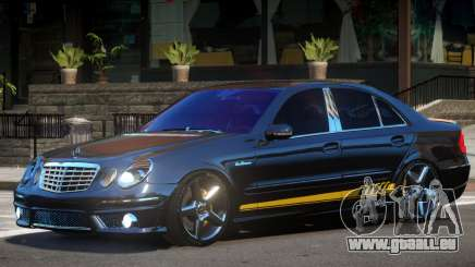 Mercedes Benz E63 Black Edition für GTA 4