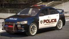 Mitsubishi Lancer X Police V1.0