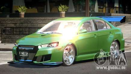 Mitsubishi Lancer X GT-R für GTA 4