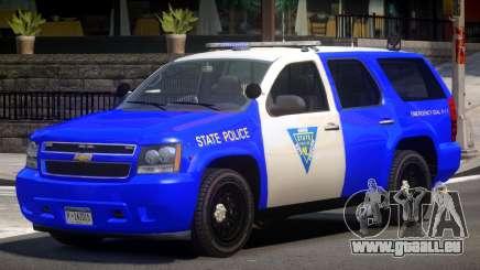Chevrolet Tahoe Patrol V1.0 pour GTA 4
