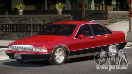Chevrolet Caprice V1.0 für GTA 4