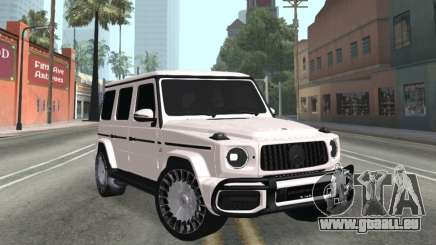 Mercedes-Benz G63 AMG White pour GTA San Andreas