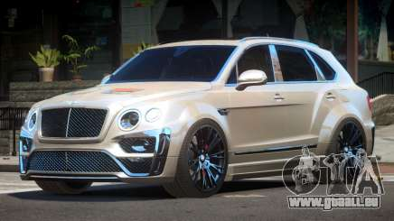 Bentley Bentayga für GTA 4