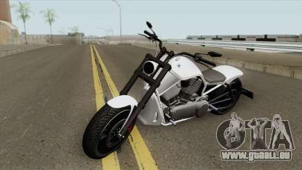 Western Motorcycle Nightblade (Stock) GTA V pour GTA San Andreas