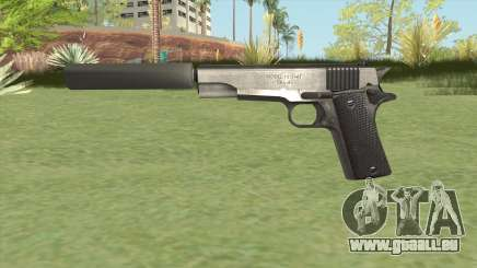 Silenced Pistol (HD) für GTA San Andreas