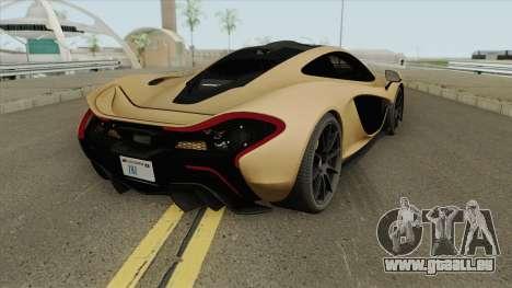 McLaren P1 (RHA) für GTA San Andreas
