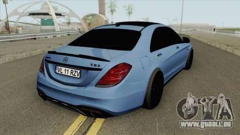 Mercedes-Benz W222 S63 (AMG Mafia) pour GTA San Andreas
