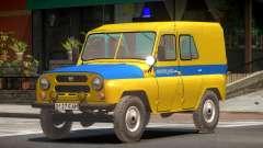 UAZ 469 Police