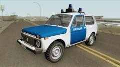 VAZ 2121 (Polizei) 1994 für GTA San Andreas