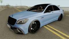 Mercedes-Benz W222 S63 (AMG Mafia) für GTA San Andreas
