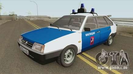 2109 (Police de Moscou) pour GTA San Andreas