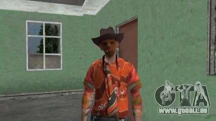 Nikolai Dobrynine (dans le rôle de Mitya Buhangen) v. 4 pour GTA San Andreas