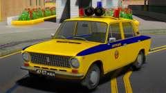 VAZ-21011 1978 Police