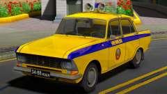 La Moskvitch 412 Police (GAI) de l'URSS