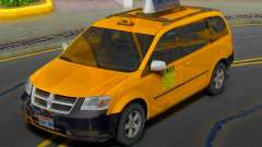 Dodge Grand Caravan 2009 Taxi für GTA San Andreas