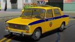 VAZ-2101 police Soviétique