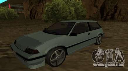 Honda Civic Hatchback 3 Gen (SA Style) für GTA San Andreas