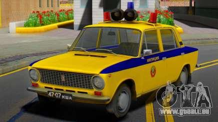 VAZ-21011 1978 Police pour GTA San Andreas