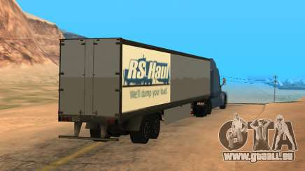 Trailer for Peterbilt 579 Sleeper (SA Style) für GTA San Andreas