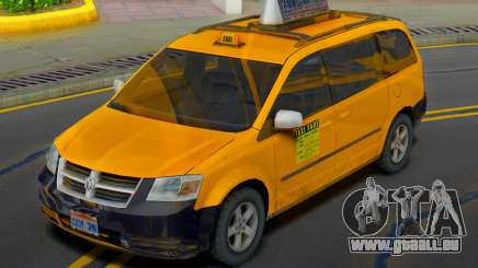Dodge Grand Caravan 2009 Taxi pour GTA San Andreas