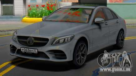 Mercedes-Benz C43 AMG Grey pour GTA San Andreas