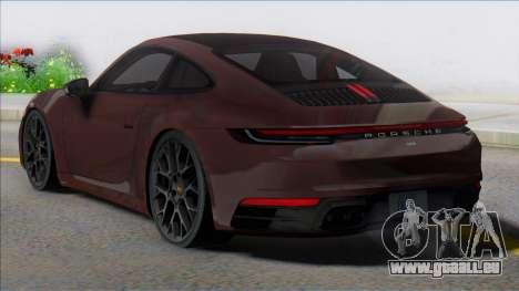 2019 Porsche 911 (992) Carrera pour GTA San Andreas