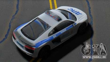 Audi R8 2015 Police pour GTA San Andreas