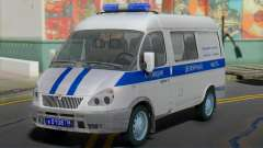 GAZ 2217 Sobol de Police de l'Obligation de