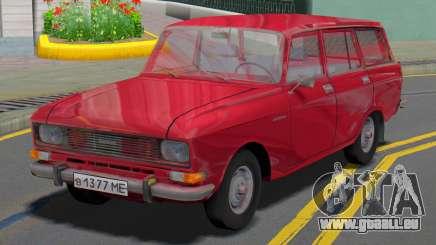 AZLK 2137 Wagon pour GTA San Andreas