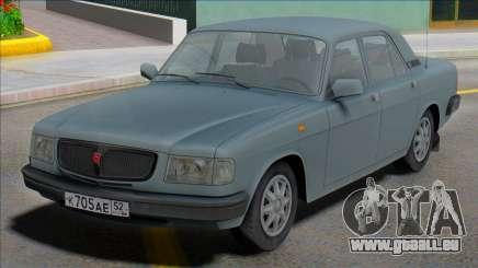 Gaz Wolga 3110 1997 für GTA San Andreas