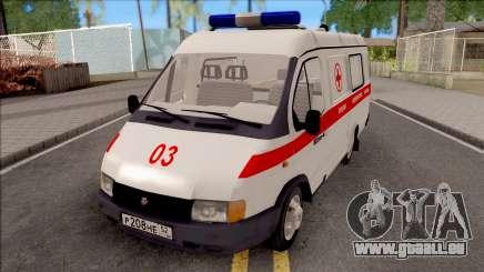 32214 GAZelle Ambulance pour GTA San Andreas