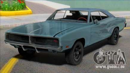 1969 Dodge Charger (renderhook) für GTA San Andreas