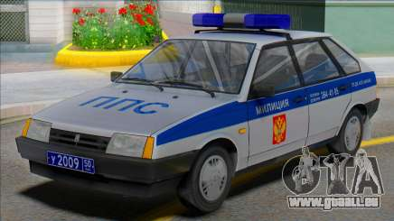 Vaz 2109 PPP 50RUS pour GTA San Andreas