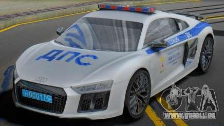 Audi R8 2015 Police für GTA San Andreas