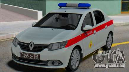 Renault Logan 2016 Garde russe pour GTA San Andreas